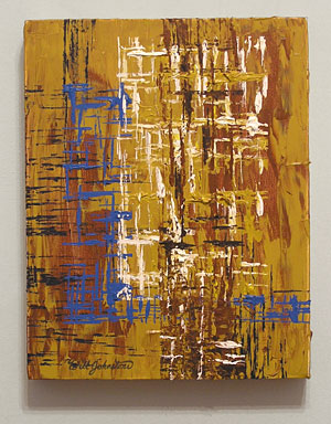 'Abstract' by Will Johnstone, Artist.